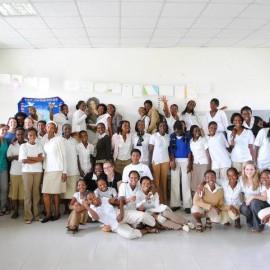 Haig Barrett Celebrates Akilah Institute