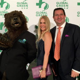 Haig Barrett Supports Global Green USA's Awards