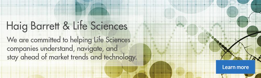 Haig Barrett and Life Sciences